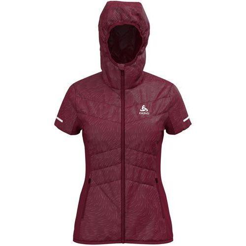 Odlo irbis x-warm kamizelka do biegania kobiety czerwony m 2018 kamizelki do biegania (7613361270932)