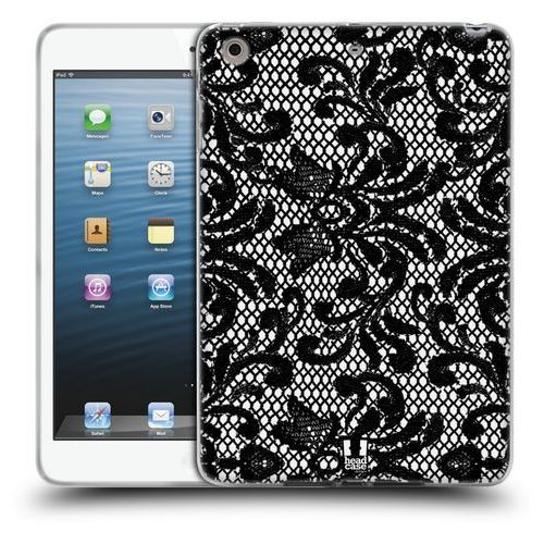 Head case Etui silikonowe na tablet - black lace damask