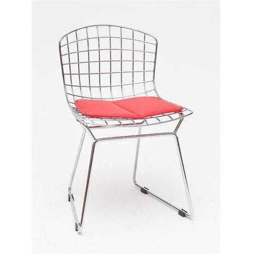 D2.design Krzesło dziecięce harry junior czerwona poduszka modern house bogata chata