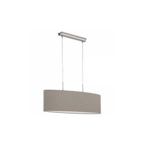 Eglo Lampa wisząca pasteri 31581 z abażurem 2x60w e27