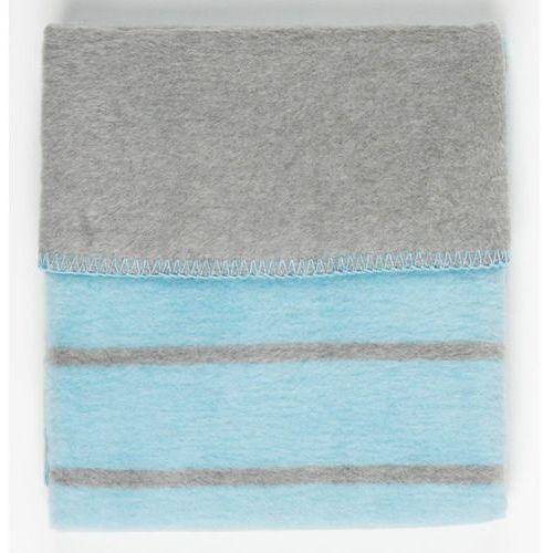 Womar Koc 100% bawełna 75X100 Paski niebieski- wysyłamy do 18:30, 5902745515182