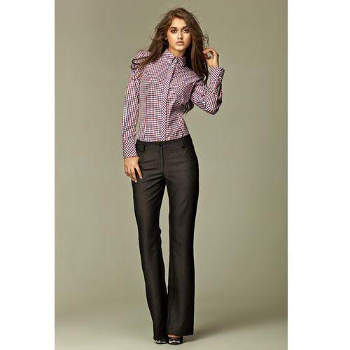 Jeansowe Spodnie w Kolorze Czarnym, NSD06bl