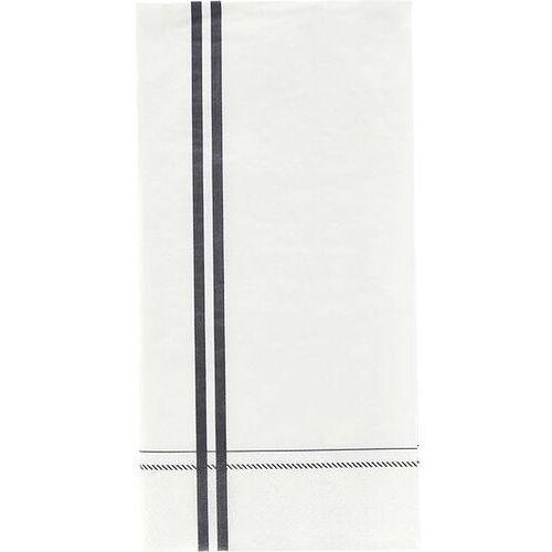 Serwetki papierowe Stripe 12 szt. szare (5707644545151)