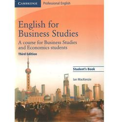 English for Business Studies Student's Book (9780521743419)