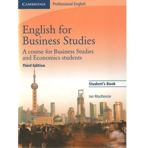 English for Business Studies Student's Book, oprawa miękka