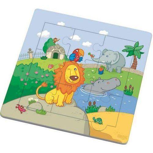 Puzzle drewniane lew i przyjaciele marki Haba
