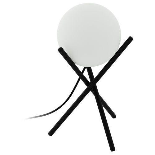 Lampka Eglo Castellato 97333 stołowa nocna 1x28W E14 czarna/biała, 97333