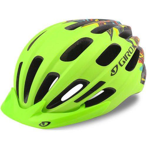 Giro hale mips kask rowerowy zielony/kolorowy u / 50-57cm 2018 kaski rowerowe