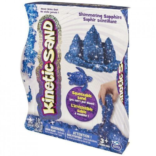 Spin master piasek kinstyczny kinetic sand brokatowy, niebieski - darmowa dostawa od 199 zł!!! (5902002062367)