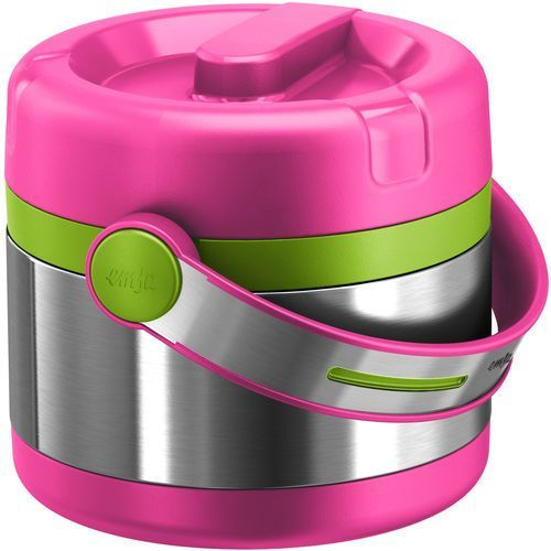 Emsa  termos na żywność kids mobility 650 ml, różowy (4009049409078)