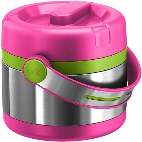 termos na żywność kids mobility 650 ml, różowy od producenta Emsa