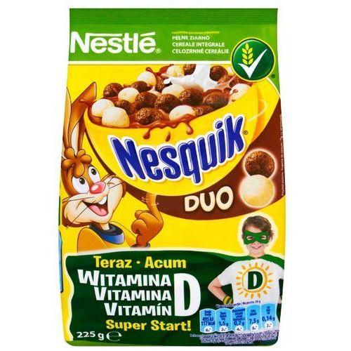 NESTLE 225g Nesquik Duo Płatki śniadaniowe