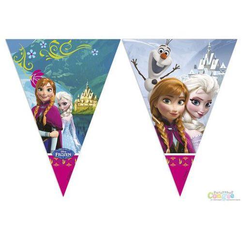 Baner flagi frozen - kraina lodu - 200 cm - 1 szt. marki Procos