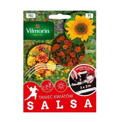Vilmorin Mieszanka kwiatów salsa nasiona na taśmie 3 x 2 m