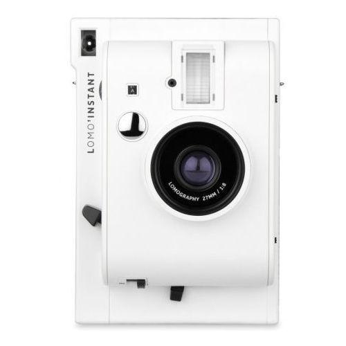 instant aparat white mini typu polaroid na wkłady instax mini marki Lomography