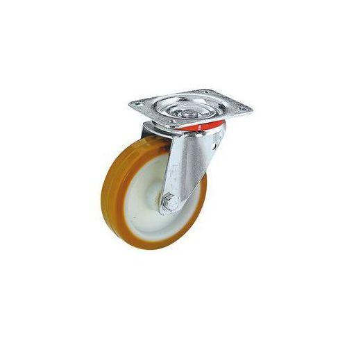 Wicke Opony poliuretanowe na feldze poliamidowej,Ø x szer. kółka 125 x 38 mm, nośność 180 kg