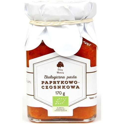 Pasta paprykowo-czosnkowa Eko 170 g