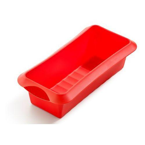 Keksówka Lekue Classic 24 cm czerwona