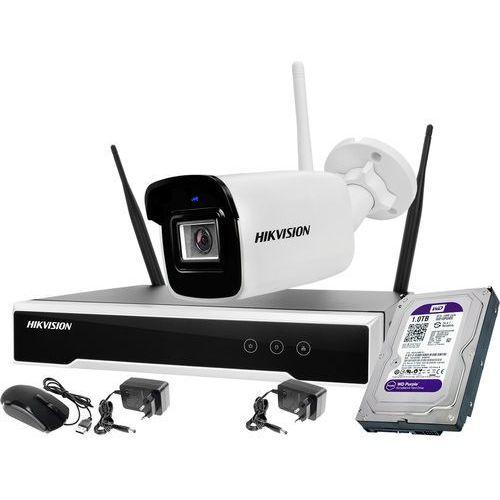Hikvision zestaw monitoringu bezprzewodowego 1 kamera wifi 4mpx 1tb