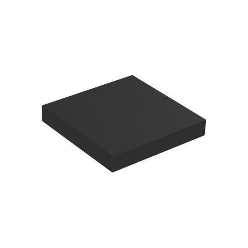 Półka ścienna KOMOROWA Czarna 23,5 x 23,5 cm SPACEO (5903357390860)
