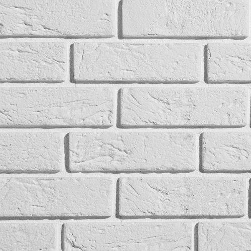 Stegu Kamień dekoracyjny z fugą PARMA 22,5x7,8 - BIAŁA CEGŁA