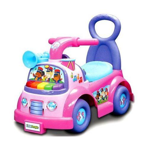 Fisher price jeździk muzyczna parada różowy - dla dziewczynki
