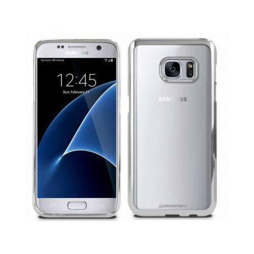 Futerał Back Case Jelly Mercury Ring 2 Samsung S8 Plus G955 Srebrny, kolor szary