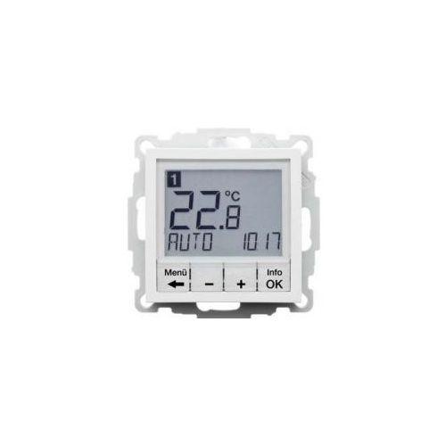b. kwadrat regulator temperatury ze sterowaniem czasowym od producenta Berker