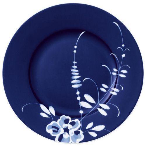 - talerz sałatkowy niebieski old luxembourg brindille 22 cm marki Villeroy&boch