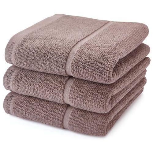 Ręcznik Aquanova Adagio taupe 30x50 cm
