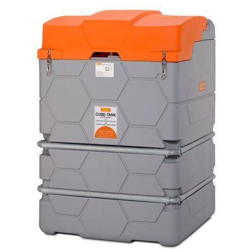 Zbiornik na oleje CUBE, Outdoor Premium, ze składaną pokrywą, poj. 2500 l. Z pok