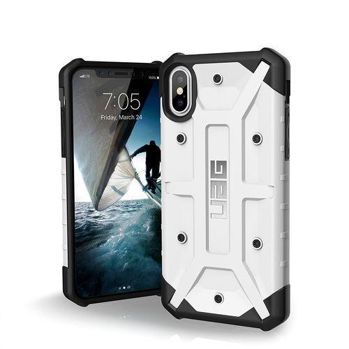 Urban Armor Gear UAG Pathfinder Etui Pancerne iPhone Xs / X (White), kolor biały
