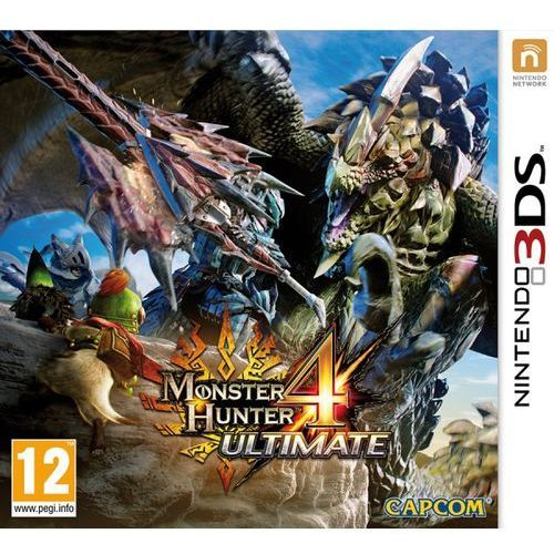 gra 3ds monster hunter 4 ultimate marki Nintendo