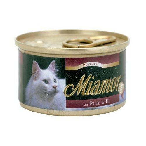fleischpastete pasztet mięsny dla kota 85g puszka 7 smaków marki Miamor