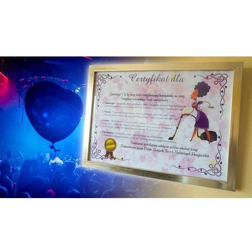 Certyfikat przyszłej żony - wersja z ramką
