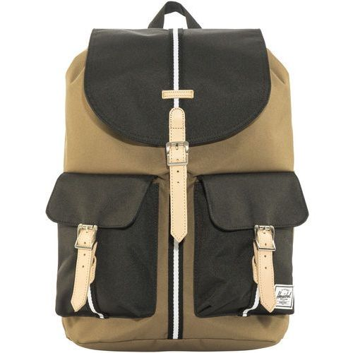Herschel Dawson Plecak beżowy/czarny 2018 Plecaki szkolne i turystyczne