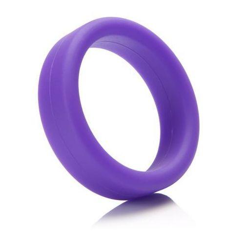 - pierścień na członka - super soft c-ring purple fioletowy marki Tantus