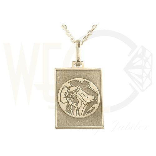 Medalik z żółtego złota med-6-2, marki Węc - twój jubiler