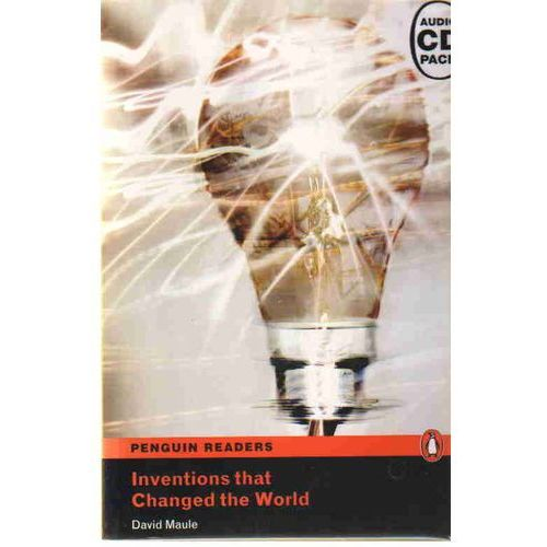 Inventions That Changed The World plus MP3 CD Penguin Readers Original (9781408289600)