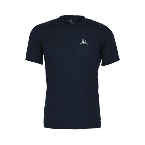 Salomon TRAIL RUNNER Tshirt z nadrukiem dress blue (0889645527703)