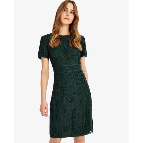 Phase Eight Delaware Tape Dress, kolor zielony