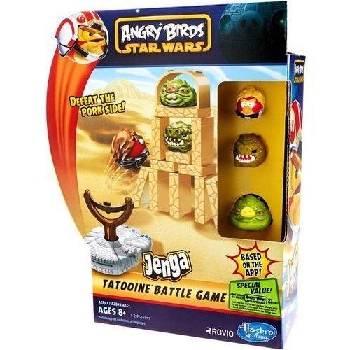 Familijna Hasbro Angry Birds Star Wars Jenga Battle Game A2847