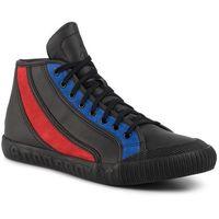 Sneakersy LE COQ SPORTIF - Nationale Mid Tricolore 1920084 Black/Tricolore, w 6 rozmiarach