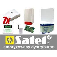 Zestaw alarmowy ca-10 lcd, gsm, 7 czujek, sygnalizator zewnętrzny marki Satel