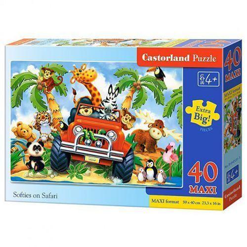 Castor Softies na safari 40 el - darmowa dostawa od 199 zł!!! (5904438040131)