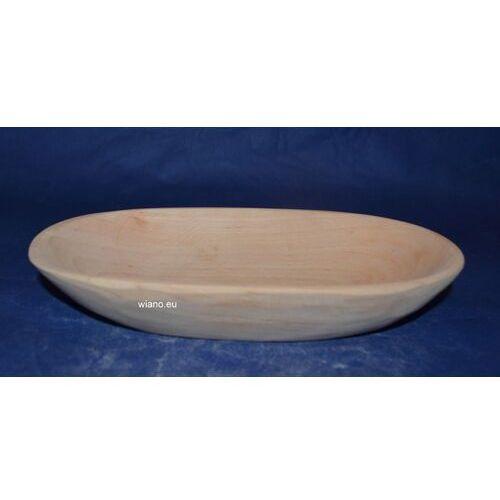 Naczynie drewniane - miska dł. 23 cm, szer. 12,5 cm marki Twórca ludowy