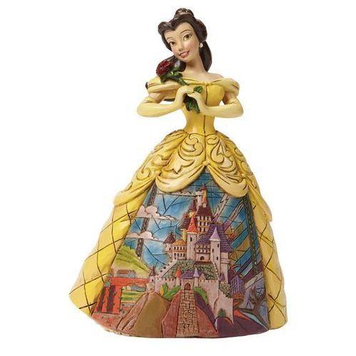 Jim shore Księżniczka bella, piekna i bestia, beauty and the beast, 4045238 figurka dekoracja pokój dziecięcy
