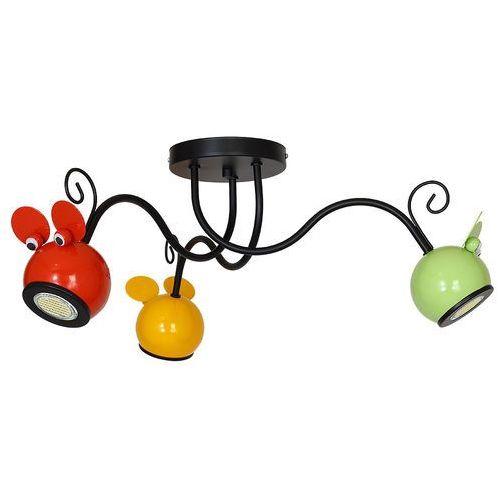 Decoland Lampa dziecięca mouse 3xgu10/40w/230v