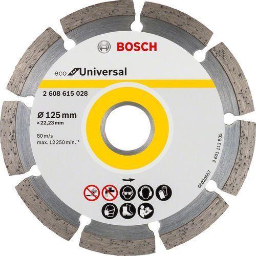 Tarcza diamentowa BOSCH ECO for Universal: 125mm 10 szt. (2608615041) + DARMOWY TRANSPORT!