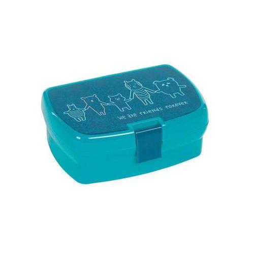Lassig - Lunchbox About Friends niebieski